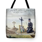 Necromancy, 18th Century Tote Bag