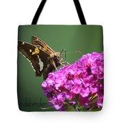 Nectaring Moth Tote Bag