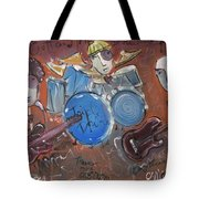 Ned Evett And Triple Double Tote Bag