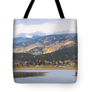 Nederland Colorado Scenic Autumn View Boulder County Tote Bag