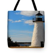 Neds Point Light Tote Bag