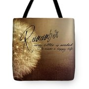 Need A Breeze Quote Tote Bag