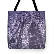 Needle And Ferris Wheel Mosaic Tote Bag