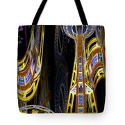 Needle And Ferris Wheel  Tote Bag