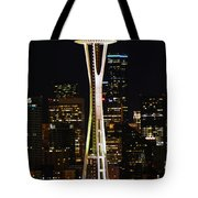 Needle At Night Tote Bag