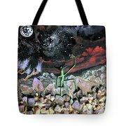 Haystack Needle Tote Bag