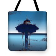 Needle In A Raindrop Stack 4 Tote Bag