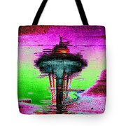 Needle In A Raindrop Stack Tote Bag