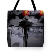 Needle In Flux Tote Bag