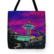 Needle In Mosaic 2 Tote Bag
