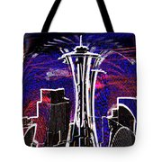 Needle In The City Tote Bag
