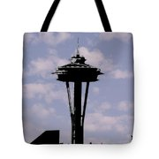 Needle In The Clouds Tote Bag
