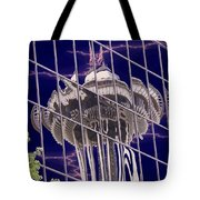 Needle Reflection Tote Bag