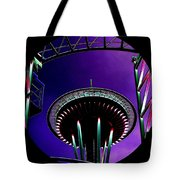 Needle Rollercoaster Tote Bag