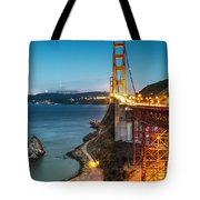 Needles At The Ggb Tote Bag