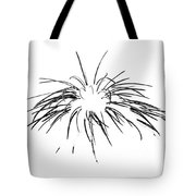 Needles In The Snow Tote Bag