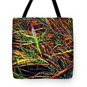 Needles Of Color Tote Bag