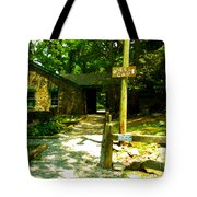 Neel Gap Appalachian Trail Tote Bag