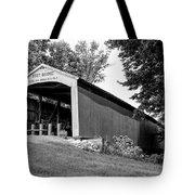 Neet Covered Bridge Tote Bag
