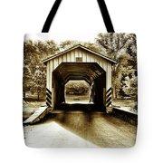 Neff's Mill Covered Bridge - Lancaster County Pa. Tote Bag