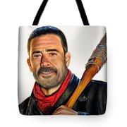 Negan - The Walking Dead Tote Bag