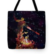 Negan Triumph And Stars Tote Bag