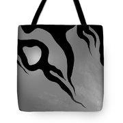 Negative Emotions. Monochrome Tote Bag