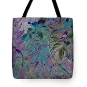 Negative Jungle Tote Bag