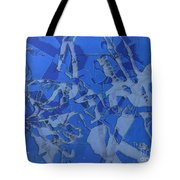 Negative Photo Silkscreen Tote Bag