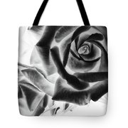 Negative Roses Tote Bag