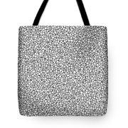 Negative Sponge Bone Confusion Tote Bag