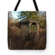 Neglected Old Gazebo Tote Bag