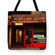 Neighborhood Shop - Dry Cleaners Tote Bag