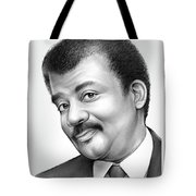 Neil Degrasse Tyson Tote Bag