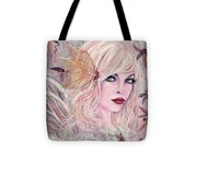 Neira Winter Fairy Tote Bag