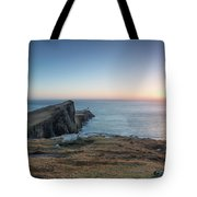 Neist Point Sunset Tote Bag