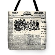 Nellie Bly (1867-1922) Tote Bag
