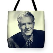 Nelson Eddy, Vintage Actor Tote Bag