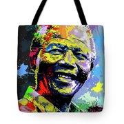 Nelson Mandela Madiba Tote Bag