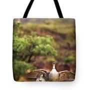Maui Hawaii Haleakala National Park Nene Hawaiian State Bird Tote Bag