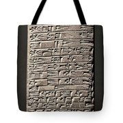Neo-babylonian Clay Tablet Tote Bag