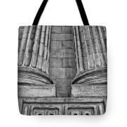 Neo Classical Architectural Detail In New York City Tote Bag