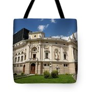 Neo Renaissance Architecture Of The Slovenian National Opera And Tote Bag