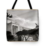 Neoclassical Architecture In Rome Tote Bag by Stefano Senise