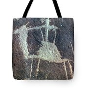 Neolithic Petroglyph Tote Bag