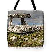 Neolithic Teleport - Portal Tomb In The Burren Tote Bag