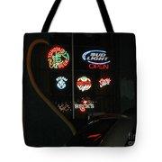 Neon Beer Tote Bag