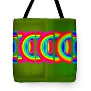 Neon Chain Tote Bag