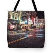 Neon City  Tote Bag