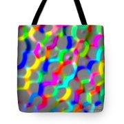 Neon Color Links Tote Bag
